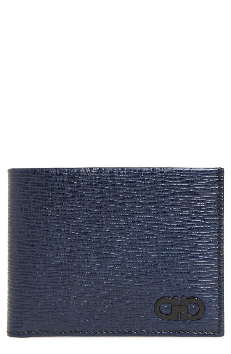 SALVATORE FERRAGAMO Revival Bifold Leather Wallet, Main, color, 411