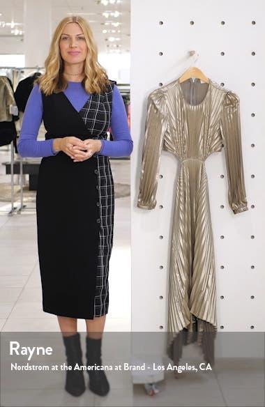 Naples Cutout Waist Long Sleeve Dress, sales video thumbnail