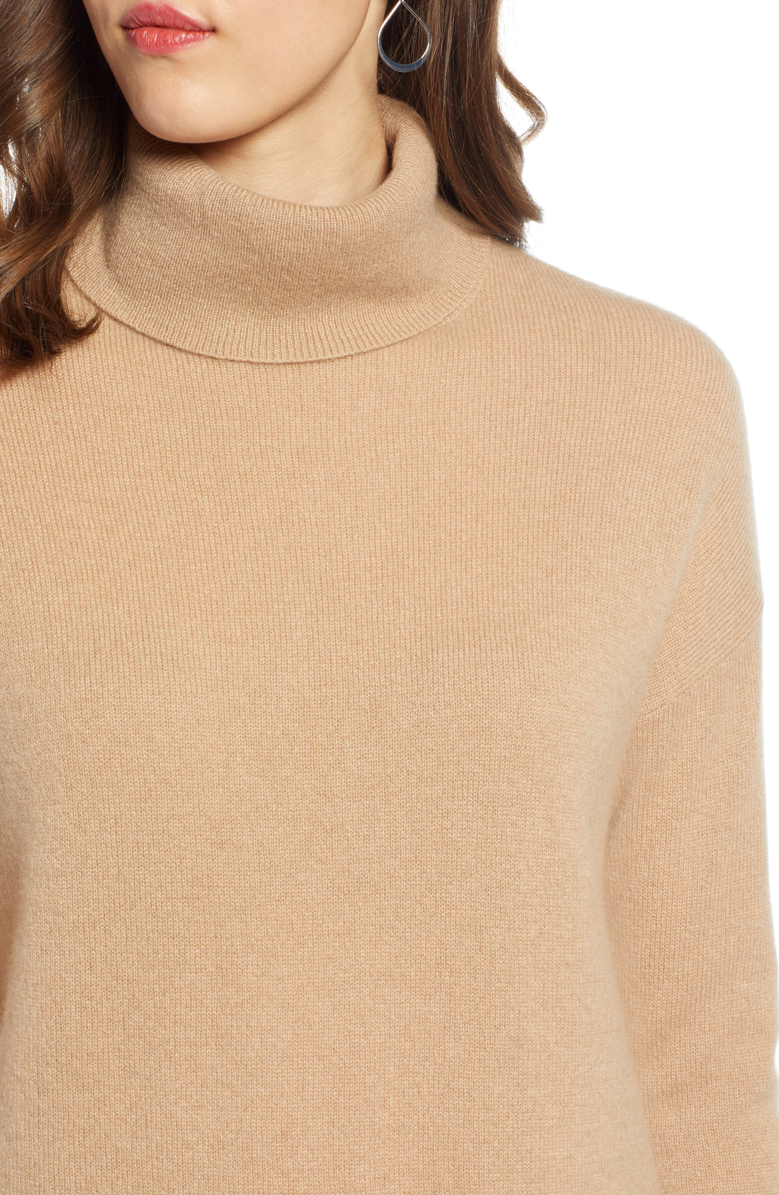 ,                             Cashmere Turtleneck Sweater,                             Alternate thumbnail 22, color,                             230