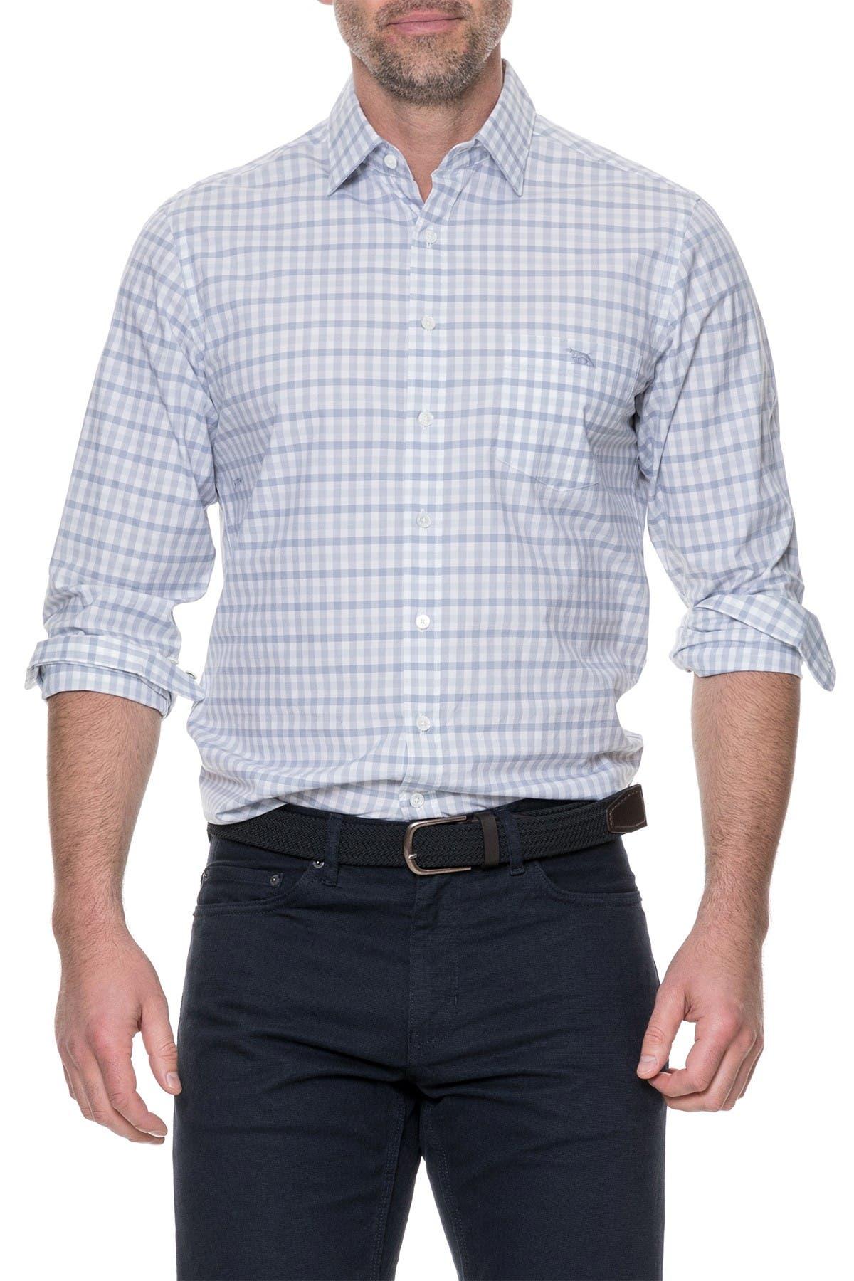 Image of RODD AND GUNN Shorecliffe Regular Fit Gingham Sport Shirt