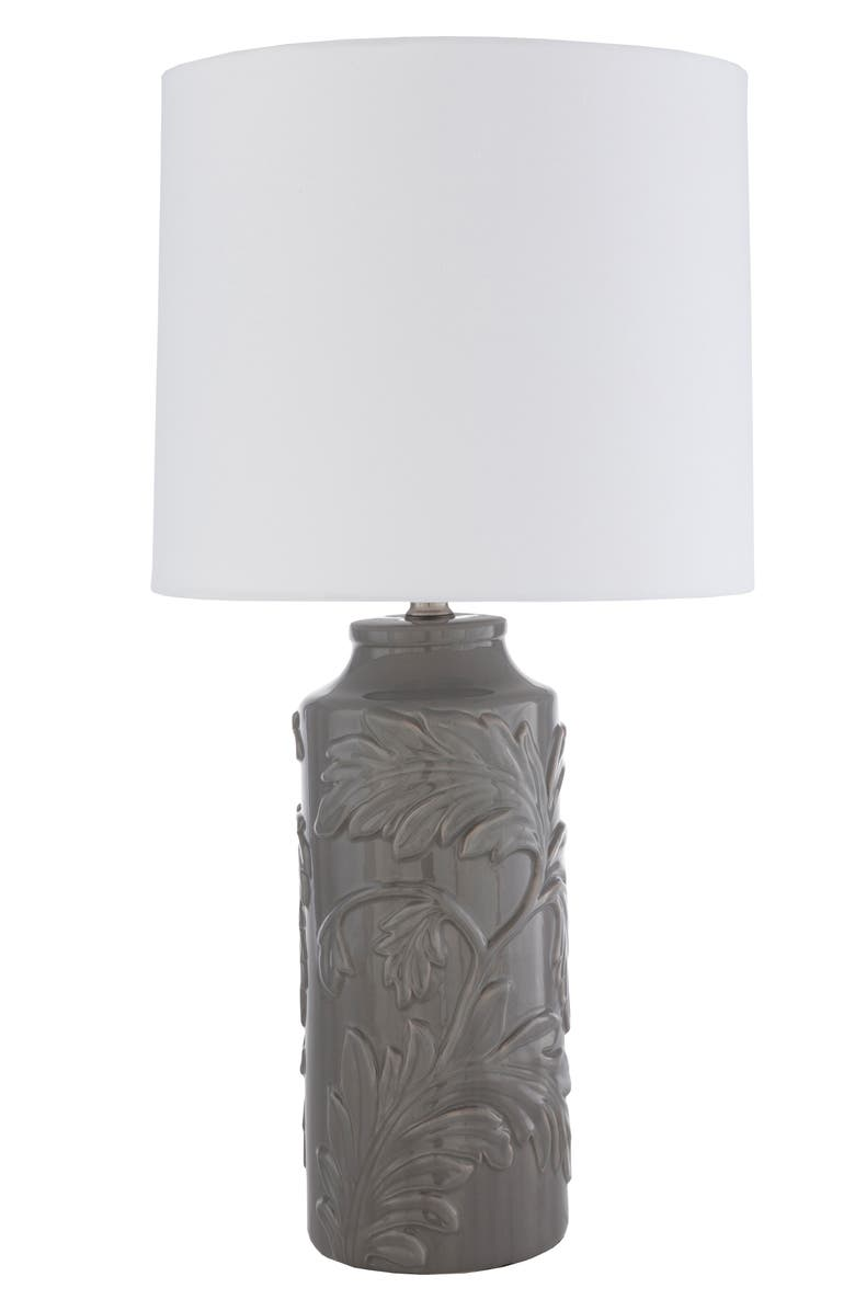 SURYA HOME Duncan Table Lamp, Main, color, MEDIUM GRAY