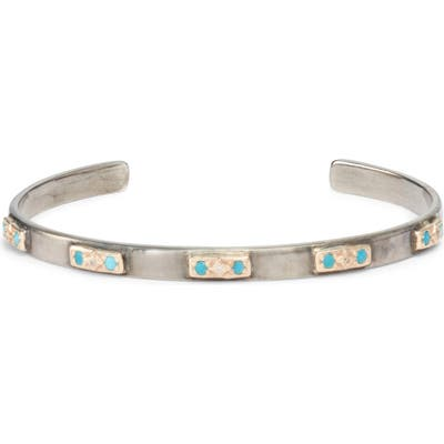 Armenta New World Turquoise & Diamond Cuff