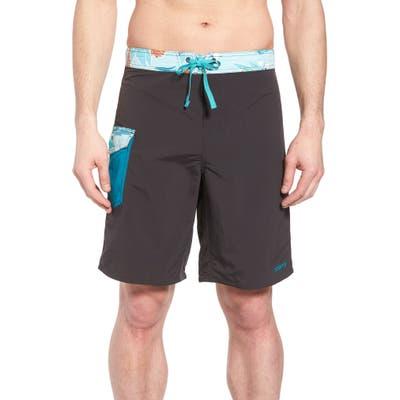Patagonia Wavefarer Board Shorts, Black