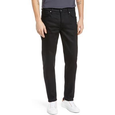 Bldwn Modern Slim Fit Stretch Selvedge Jeans, Black