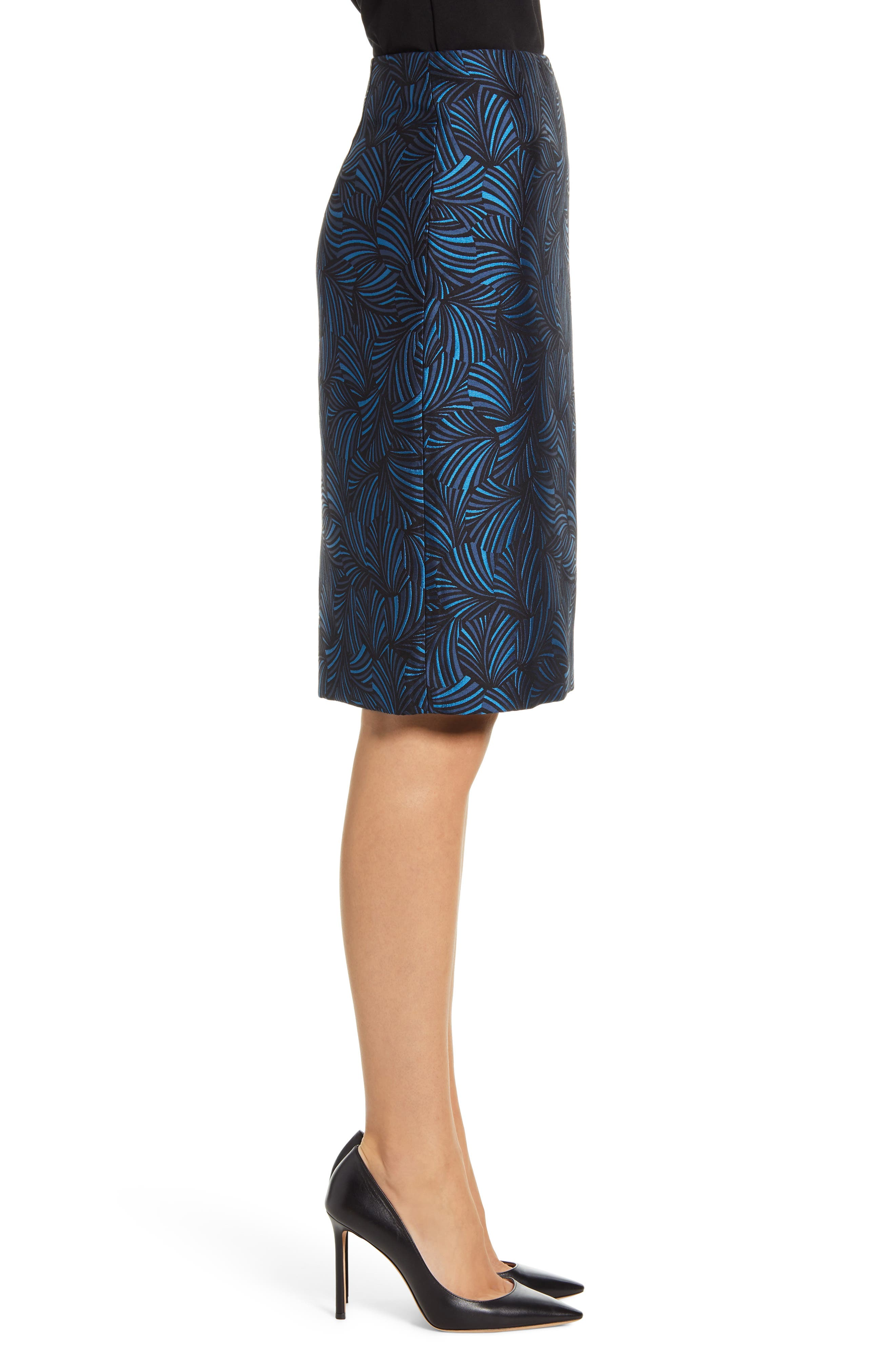 Anne Klein Skirts Jacquard Pencil Skirt