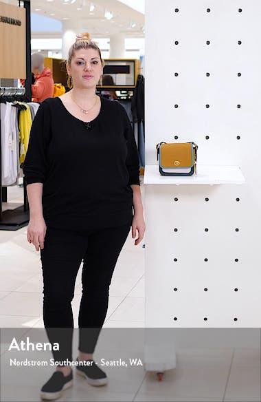 Rambler Colorblock Leather Crossbody Bag, sales video thumbnail