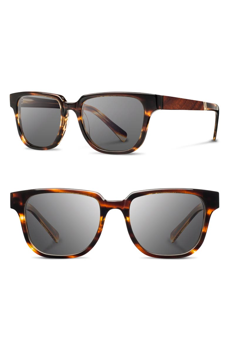 SHWOOD 'Prescott' 52mm Polarized Sunglasses, Main, color, 211