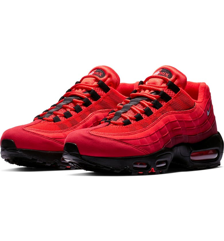 56bf805844 Air Max 95 OG Sneaker, Main, color, HABANERO RED/ WHITE/ RED