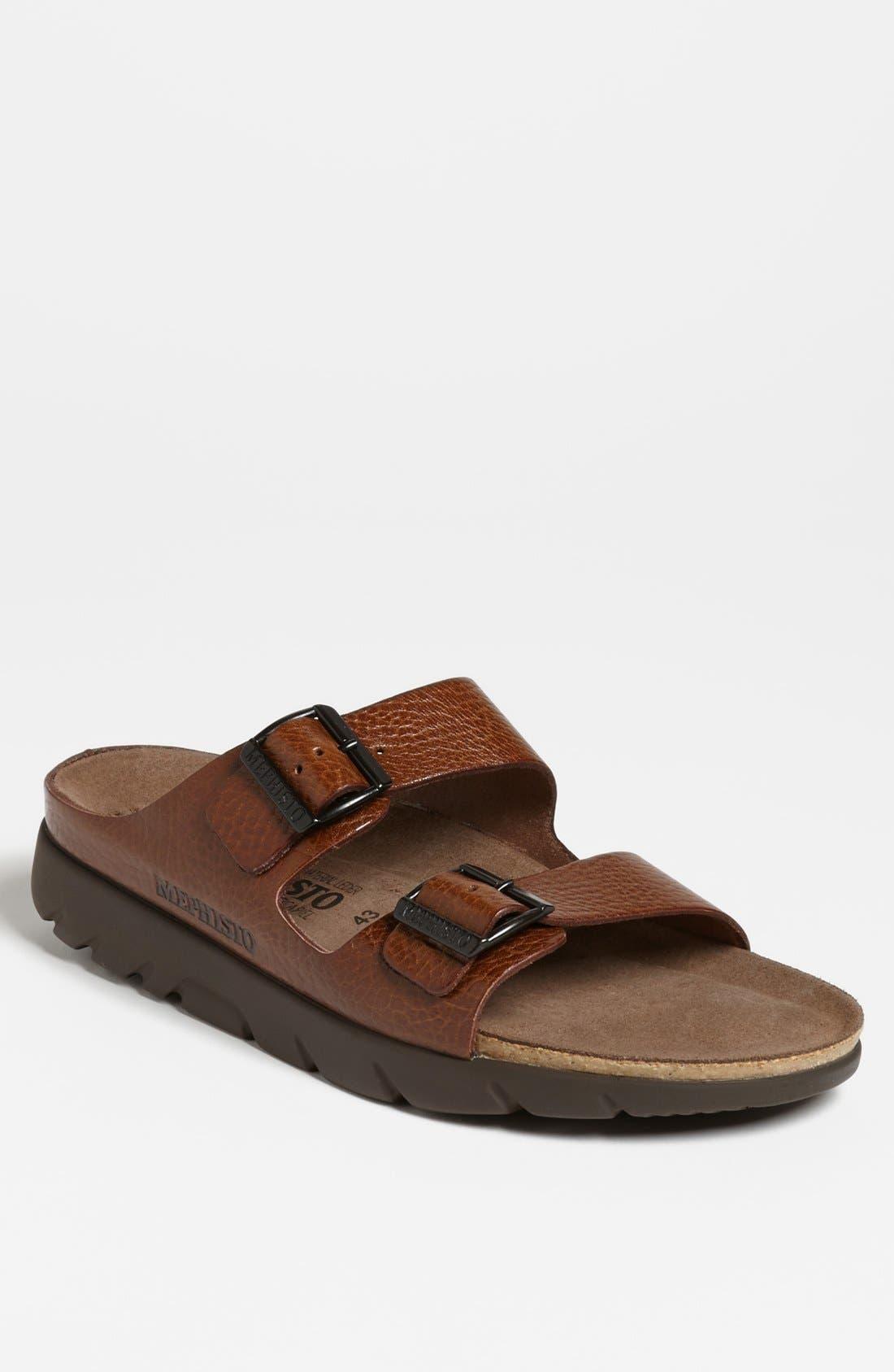 'Zonder 2' Sandal, Main, color, TAN GRAIN