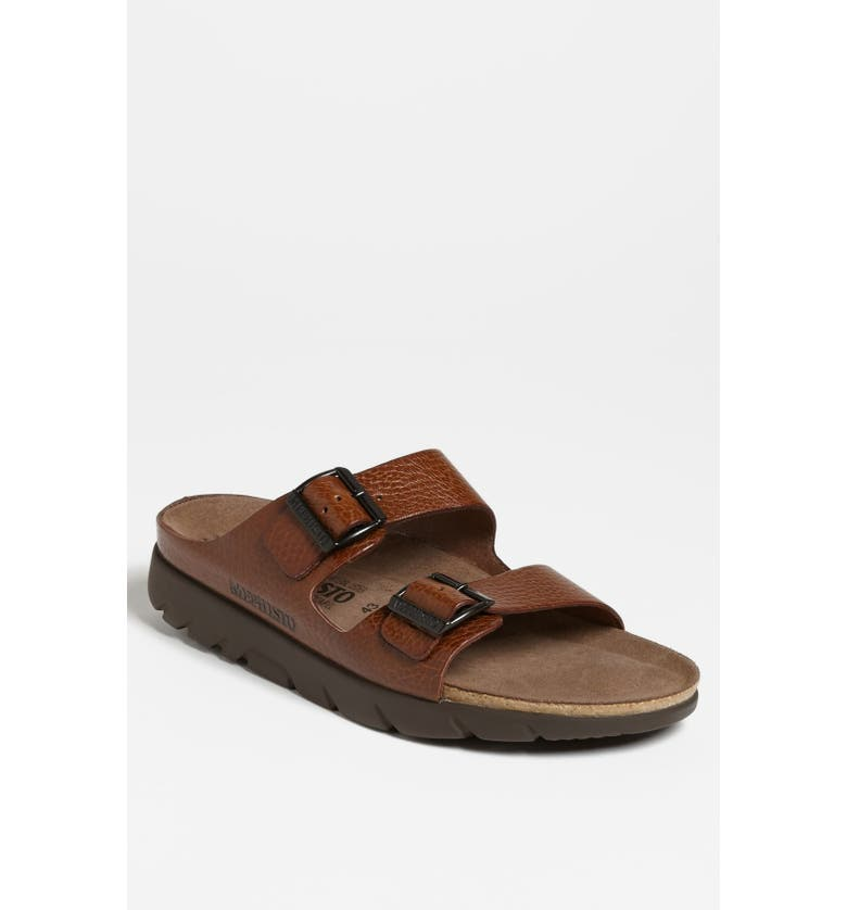 MEPHISTO 'Zonder 2' Sandal, Main, color, TAN GRAIN