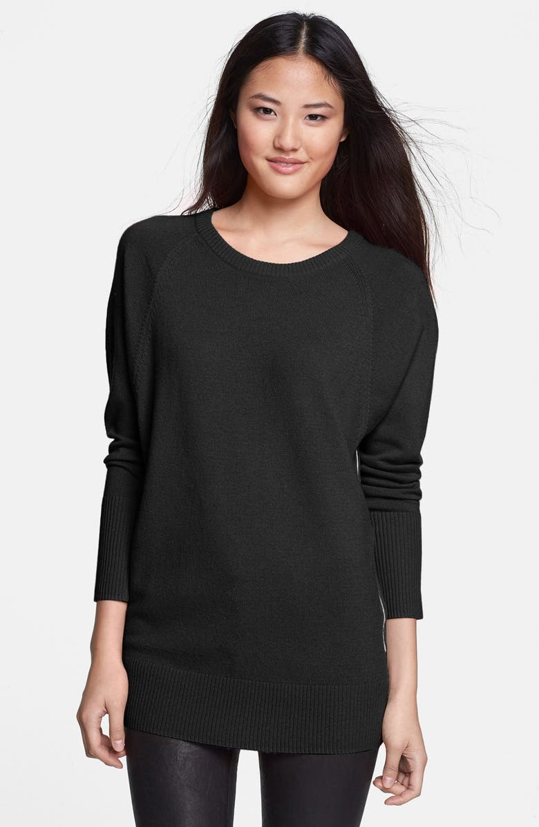 HALOGEN<SUP>®</SUP> Raglan Seam Dolman Sleeve Sweater, Main, color, 001