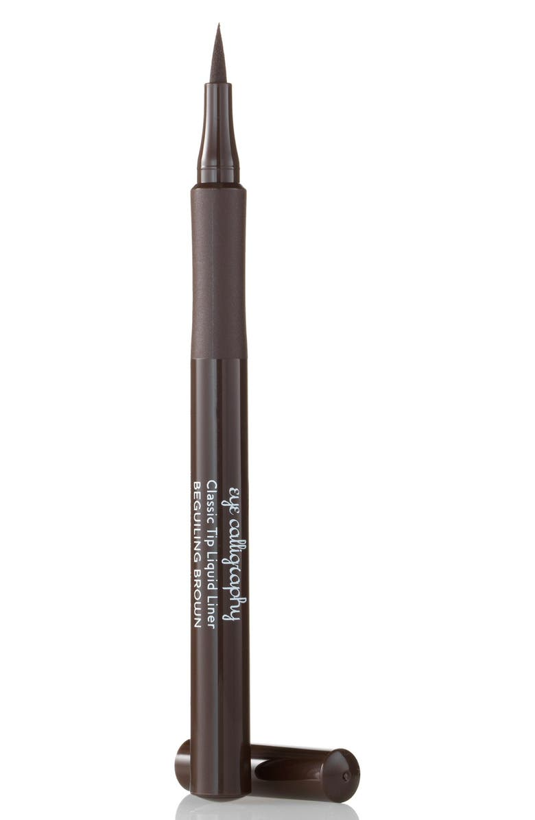 LAURA GELLER BEAUTY Eye Calligraphy Eyeliner Marker, Main, color, BEGUILING BROWN