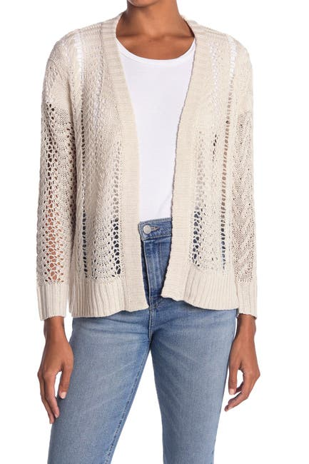 Image of Heartloom Loose Gauge Knit Cardigan