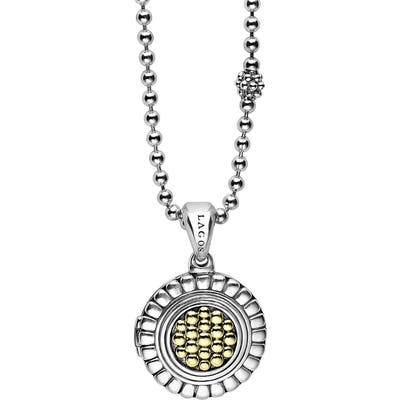 Lagos Beloved Locket Pendant Necklace