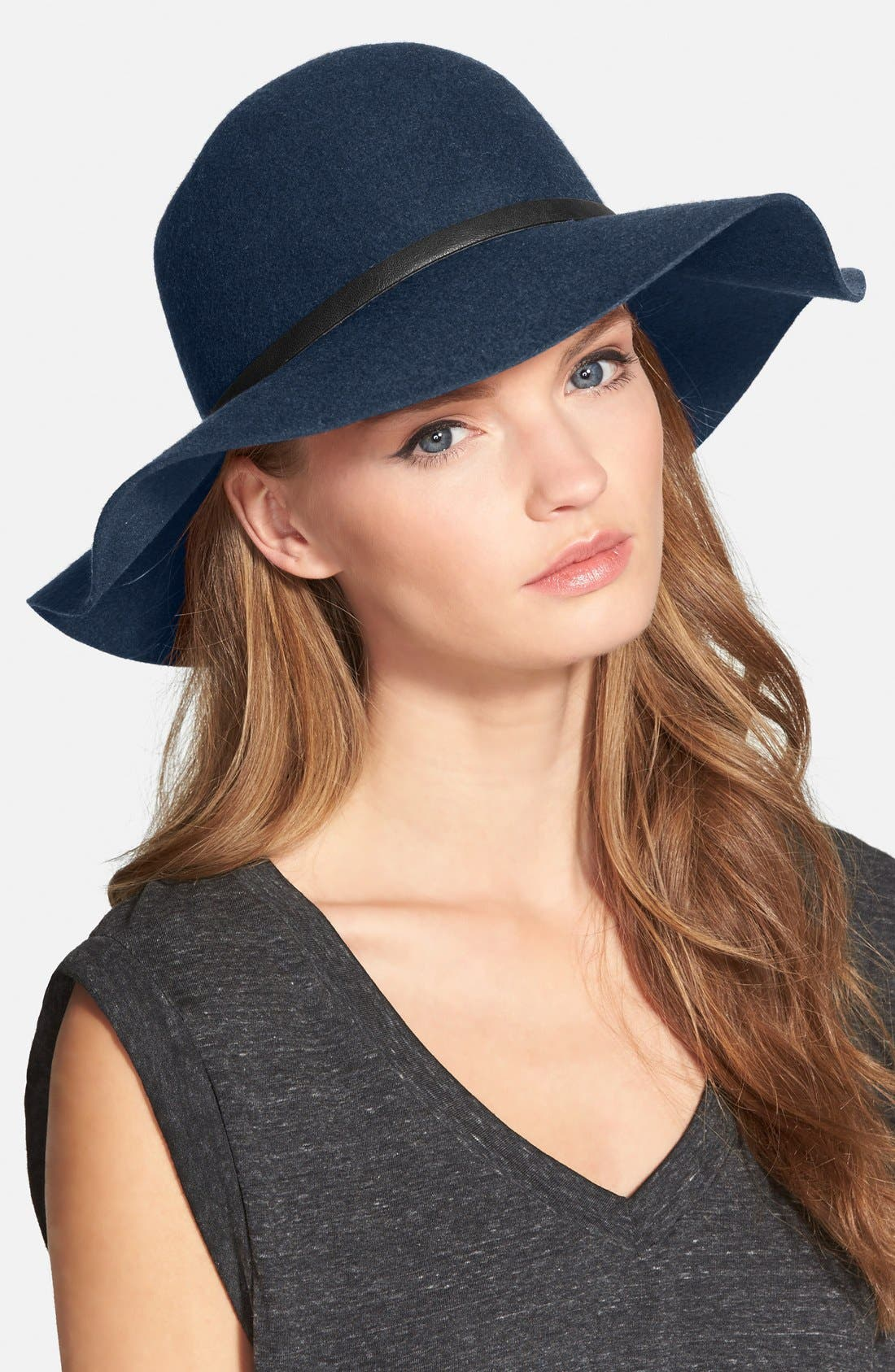 ,                             Floppy Wool Hat,                             Main thumbnail 30, color,                             400