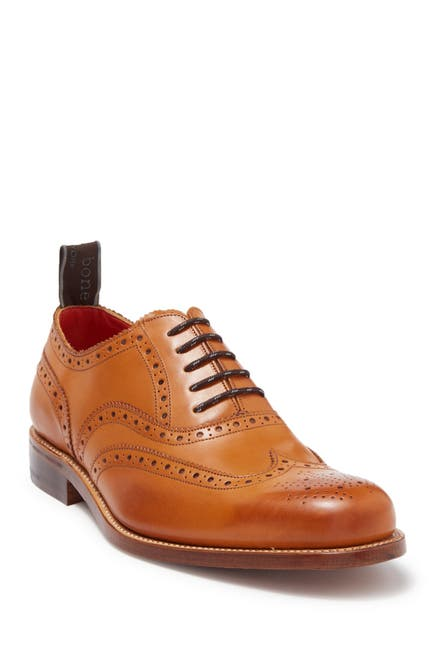 Image of Rag & Bone Wingtip Brogued Leather Oxford