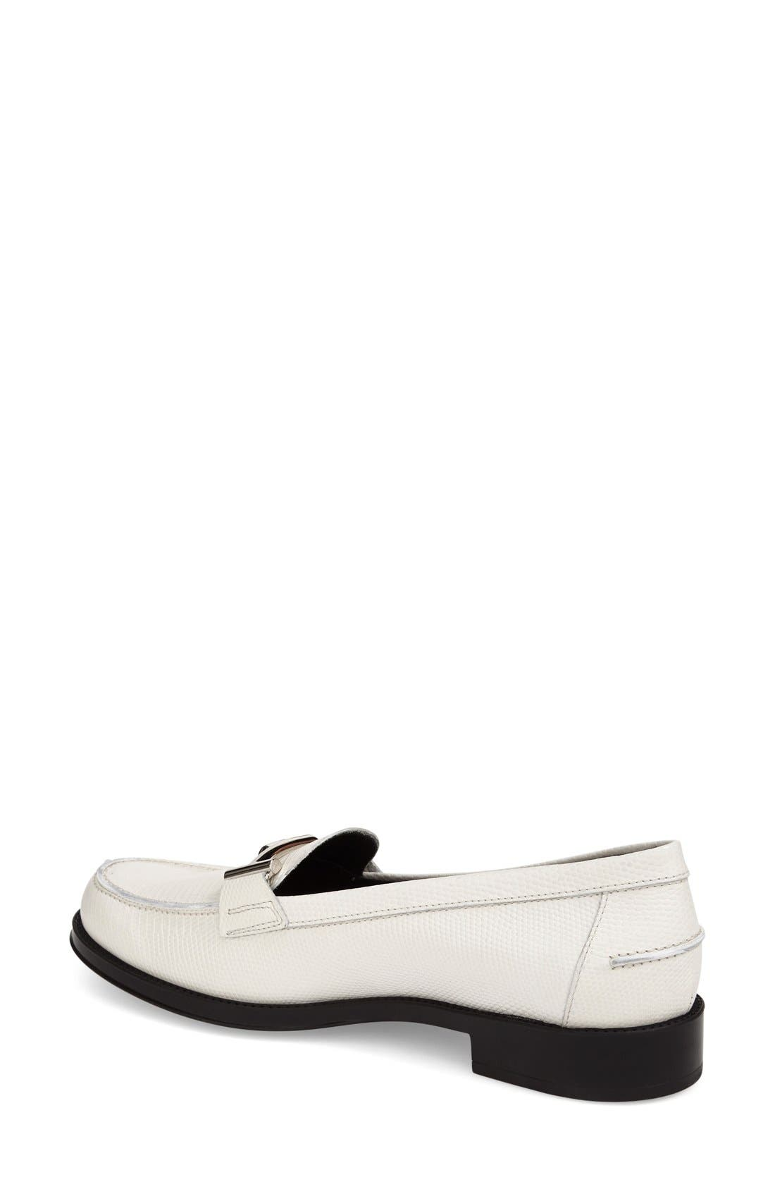,                             'Double T' Loafer,                             Alternate thumbnail 10, color,                             100