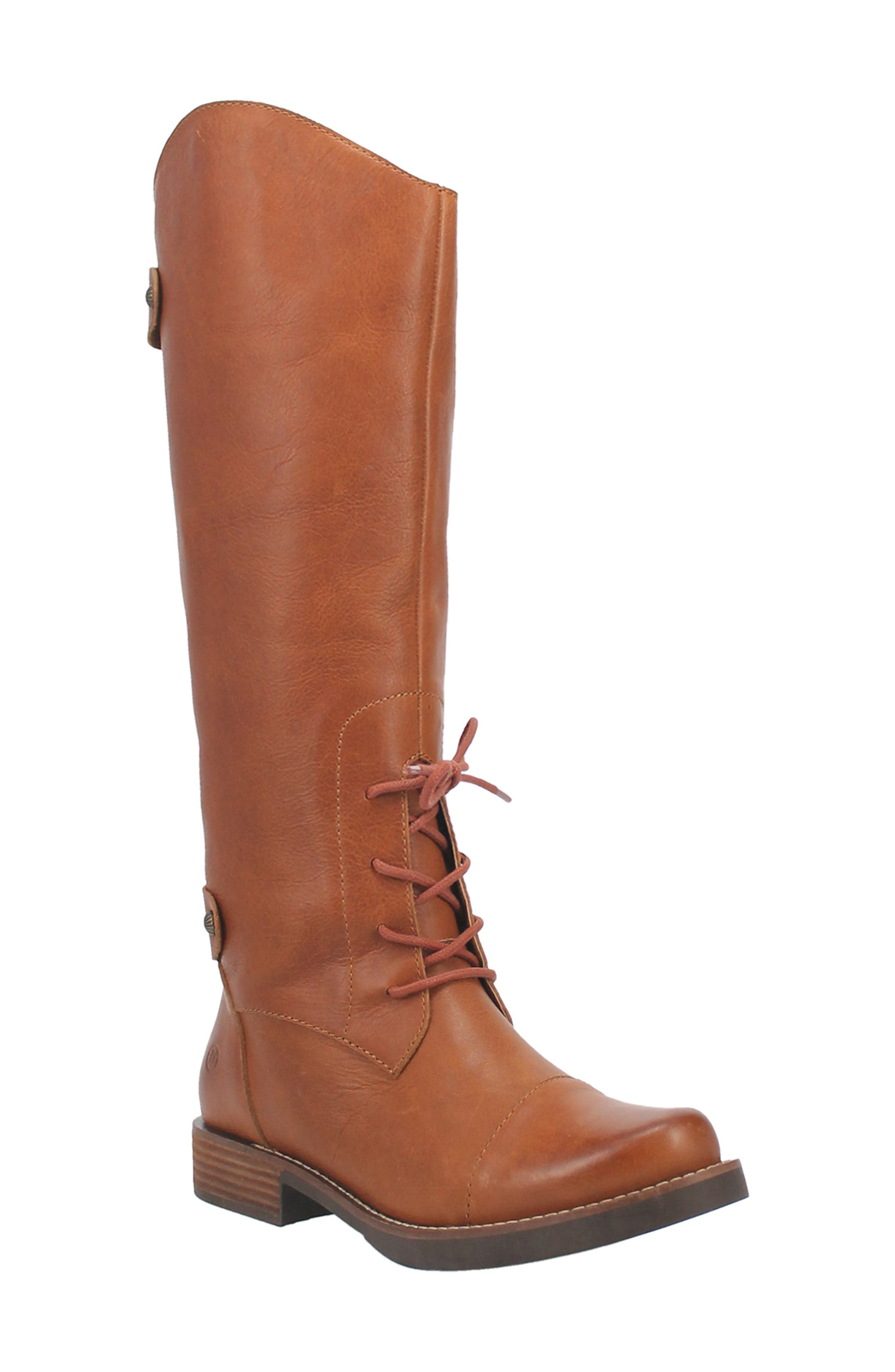 Derby Knee High Boot