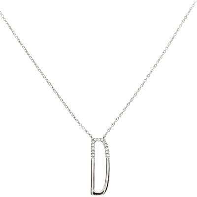 Bony Levy Diamond Initial Pendant Necklace (Nordstrom Exclusive)