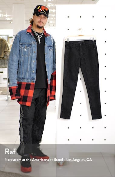 Pull-On Straight Leg Velvet Pants, sales video thumbnail