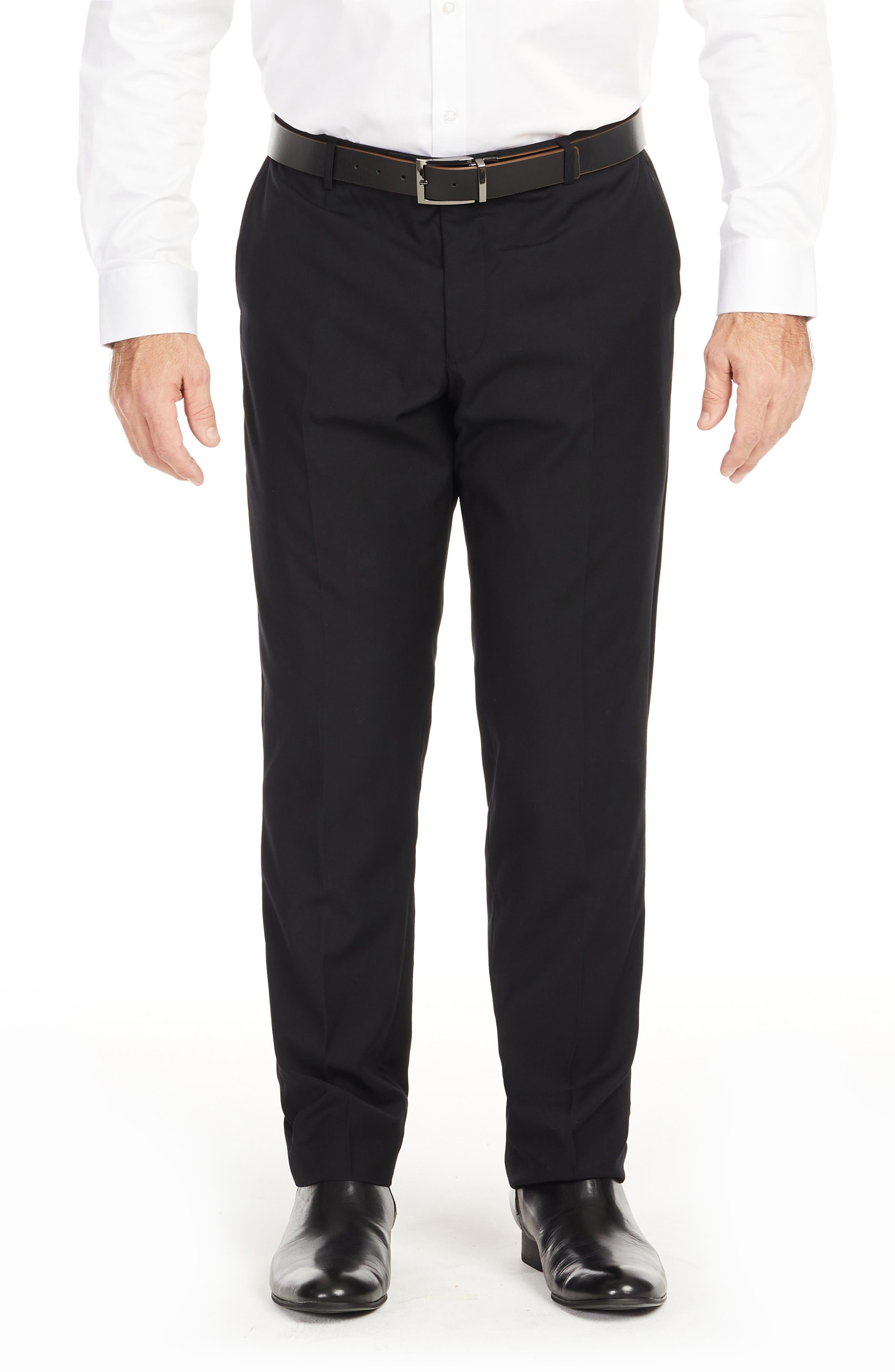 Men's Big & Tall Johnny Bigg Raymond Elastic Waist Dress Pants