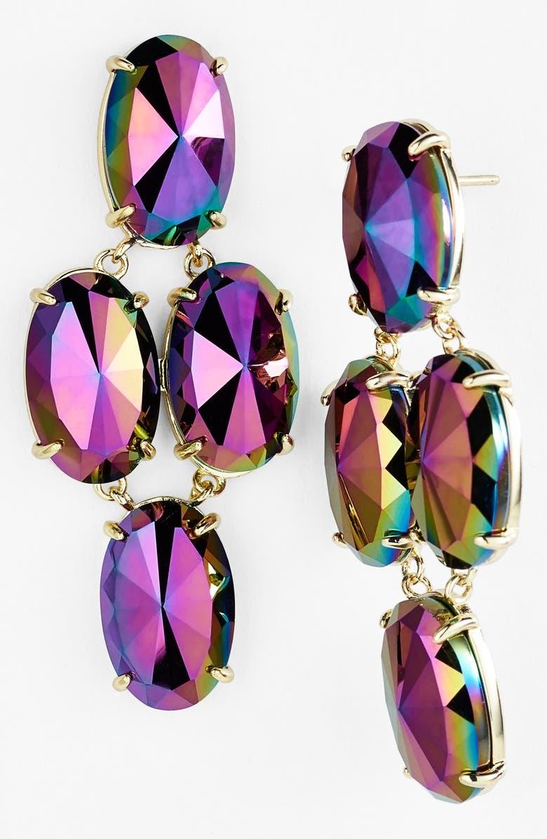 KENDRA SCOTT 'Glam Rocks - Steph' Drop Earrings, Main, color, 001