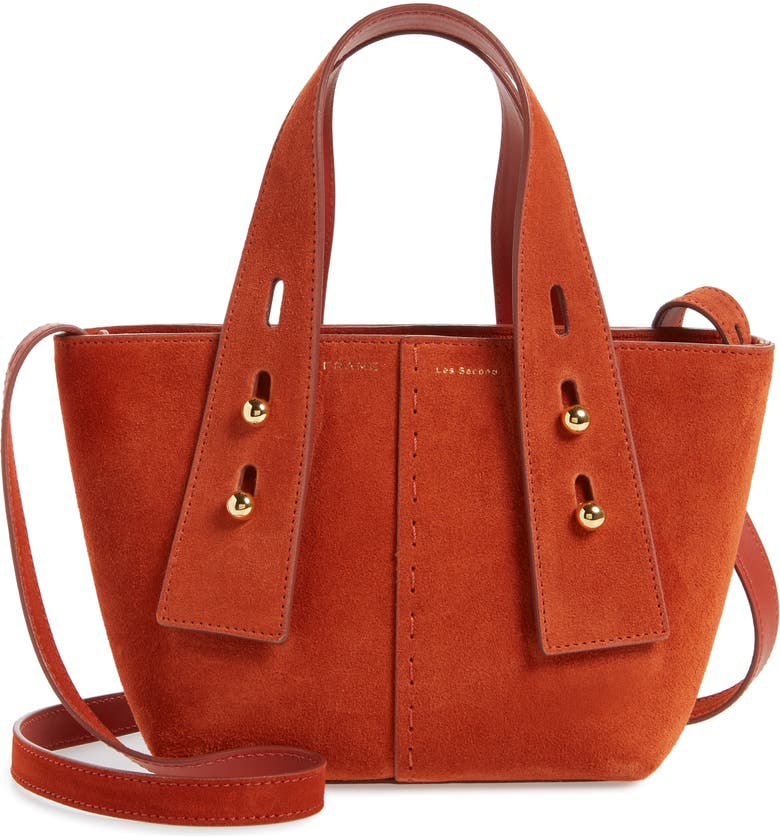 FRAME Les Second Mini Crossbody Bag, Main, color, TERRACOTTA
