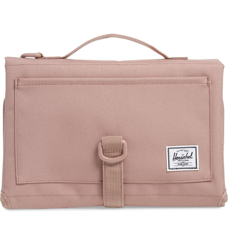 HERSCHEL SUPPLY CO. Sprout Change Mat, Main, color, ASH ROSE