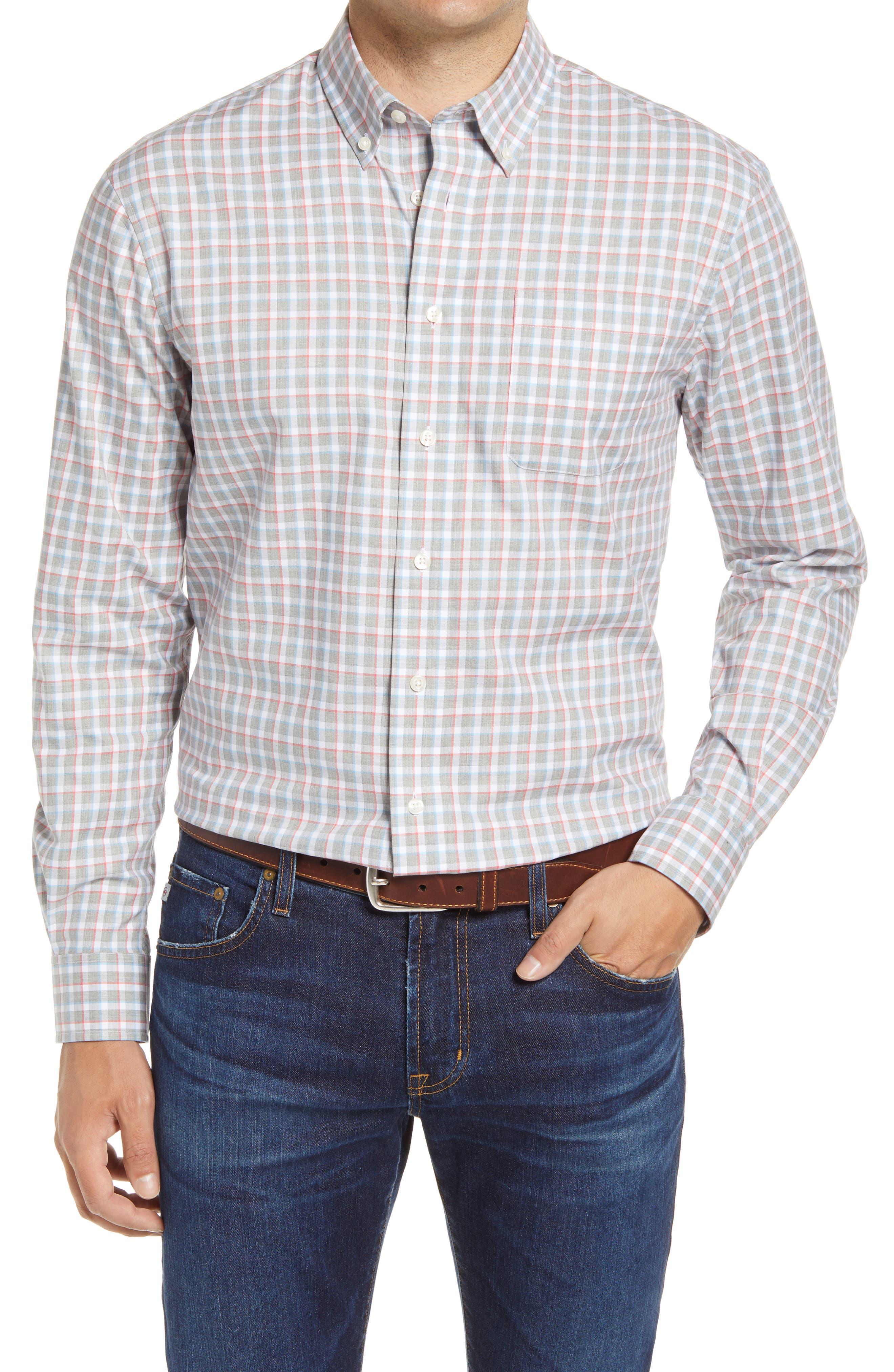 Curtis Classic Fit Plaid Button-Down Shirt