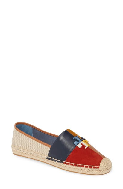 Tory Burch Shoes LOGO PATCHWORK ESPADRILLE