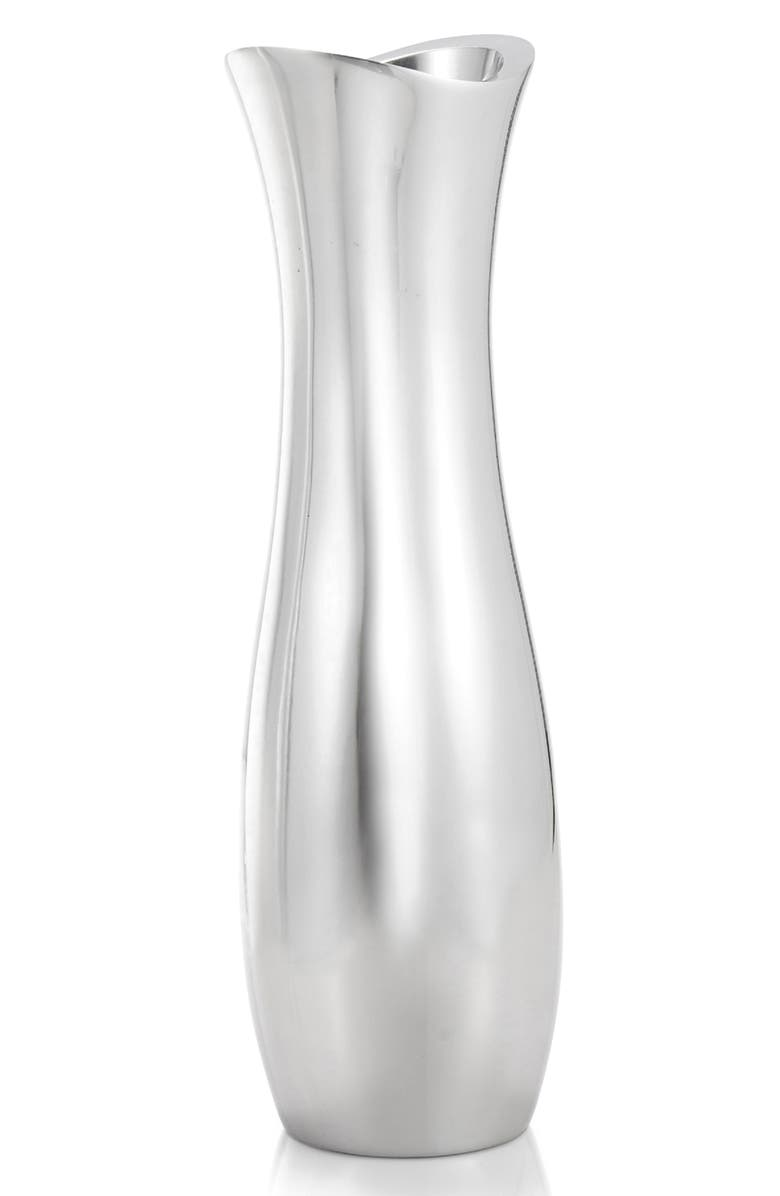NAMBÉ Stryker Vase, Main, color, METALLIC SILVER