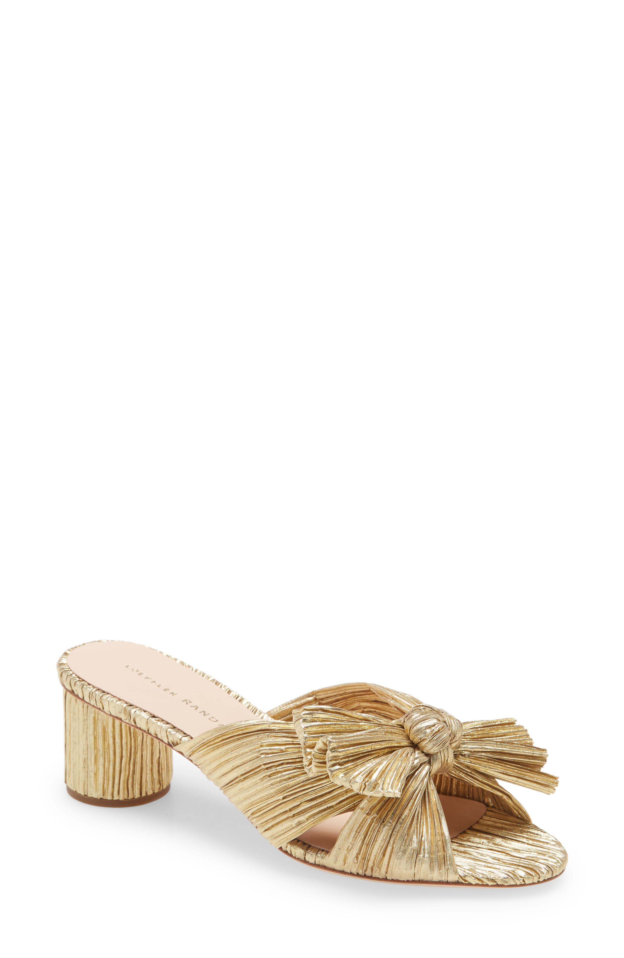 Emilia Knot Slide Sandal