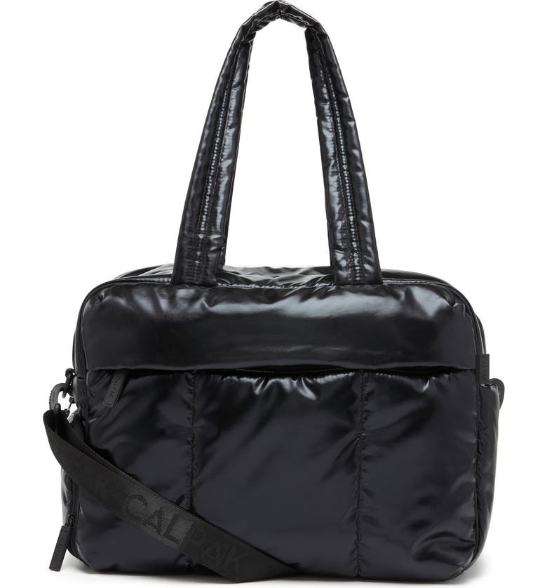 CALPAK Luka Soft Side Duffle Bag, Main, color, BLACK