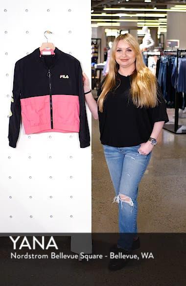 Miguela Colorblock Windbreaker Jacket, sales video thumbnail