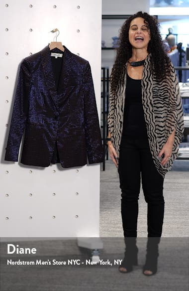 Halzie Dot Jacquard Jacket, sales video thumbnail