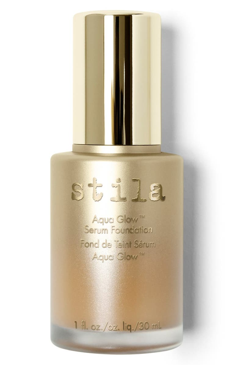 STILA Aqua Glow Serum Foundation, Main, color, MEDIUM TAN