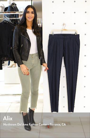 Soho Flat Front Stretch Wool Blend Dress Pants, sales video thumbnail