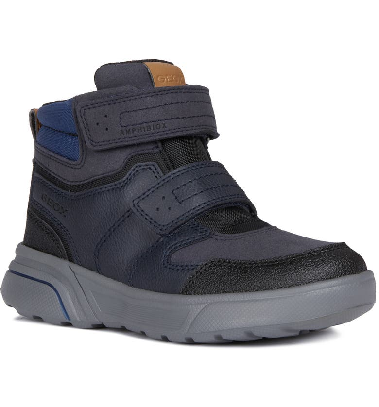 GEOX Sveggen Amphibiox<sup>®</sup> Waterproof Boot, Main, color, 001