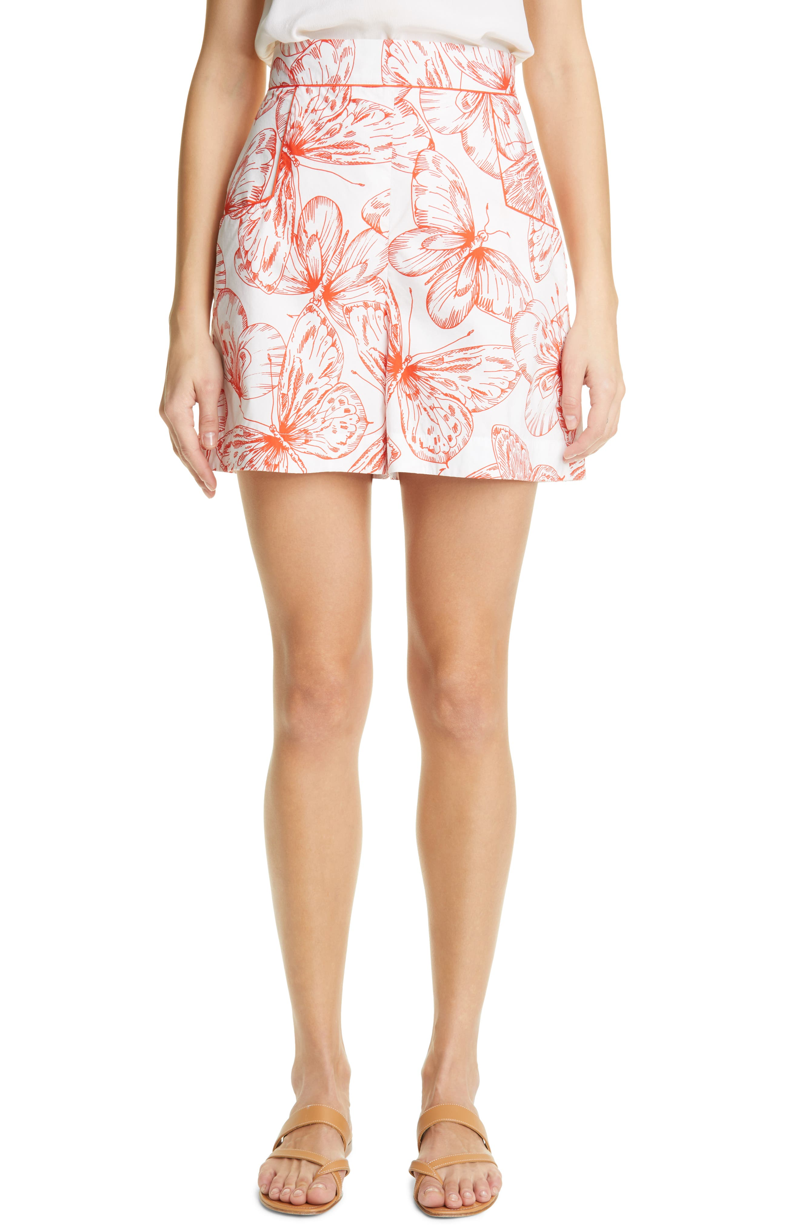 Butterfly Cotton Shorts