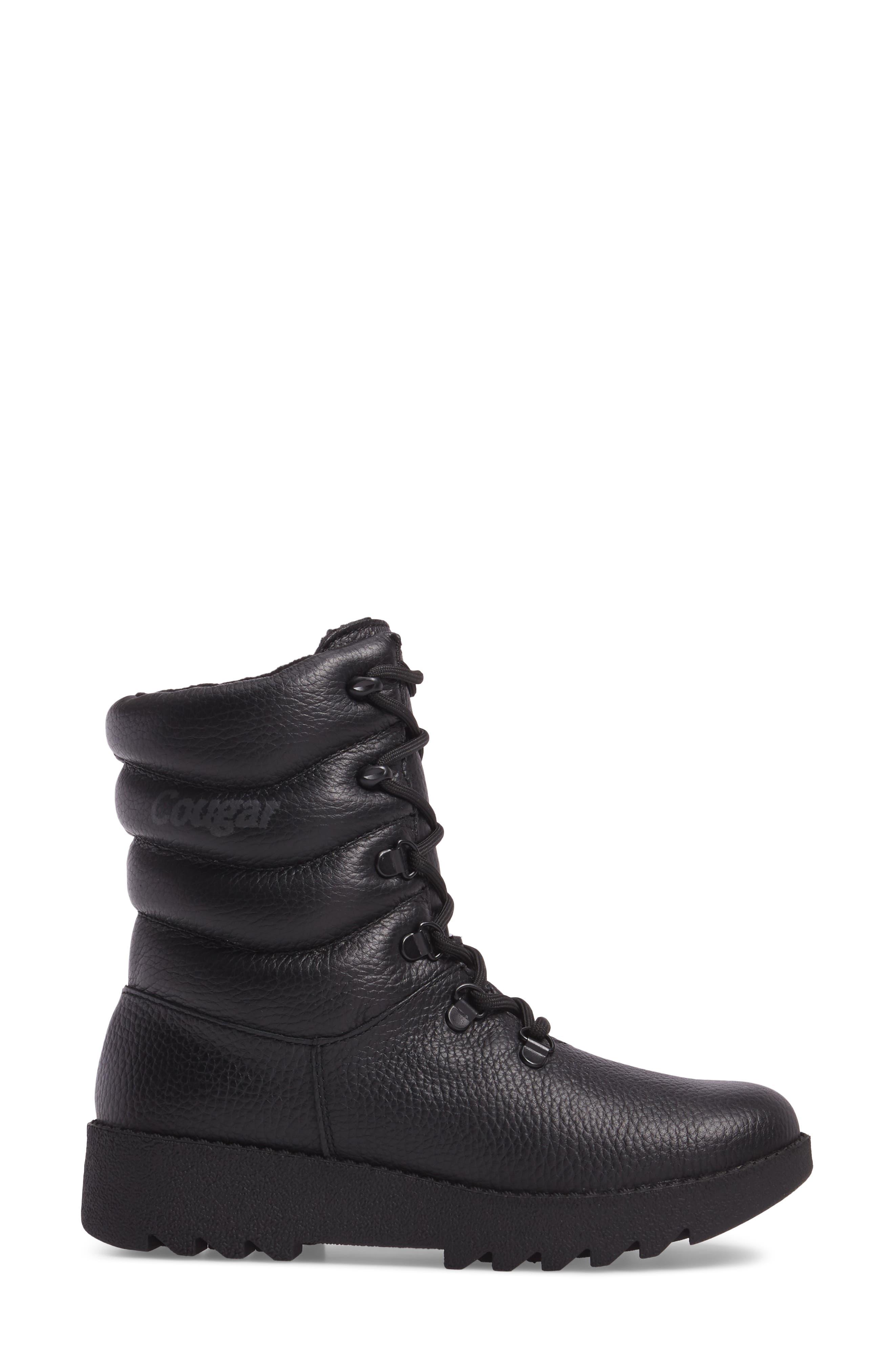 ,                             Blackout Waterproof Boot,                             Alternate thumbnail 3, color,                             001