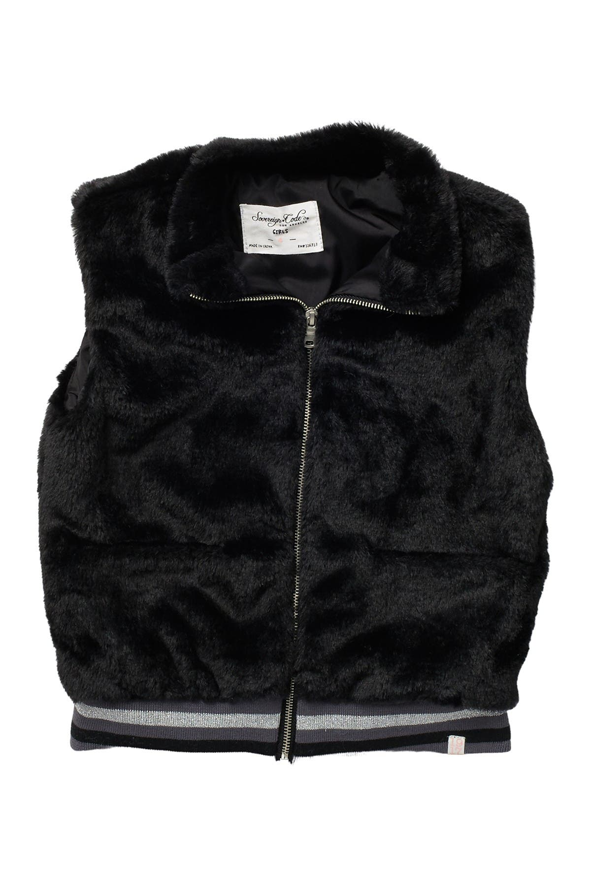 Image of Sovereign Code Hermine Faux Fur Vest