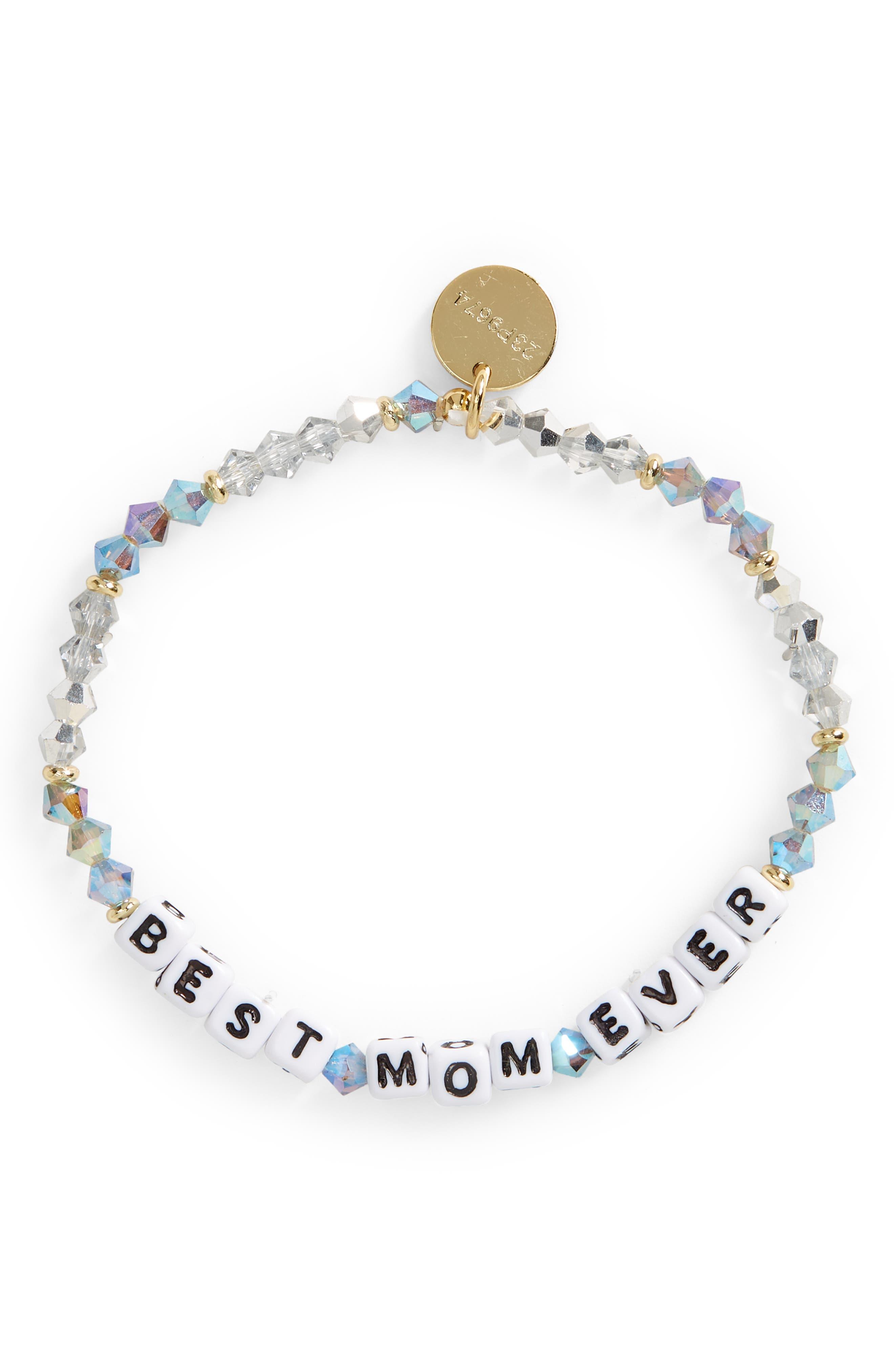 Best Mom Ever Beaded Bracelet