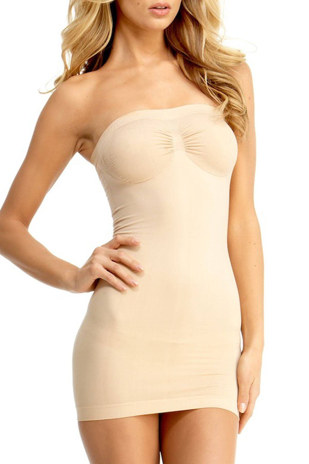 Image of MEMOI SlimMe Full Control Shaping Slip Dress
