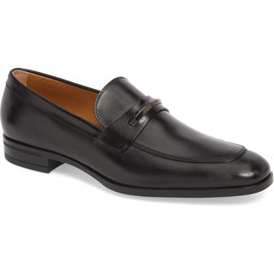 Boss Portland Solid Bit Loafer, Black