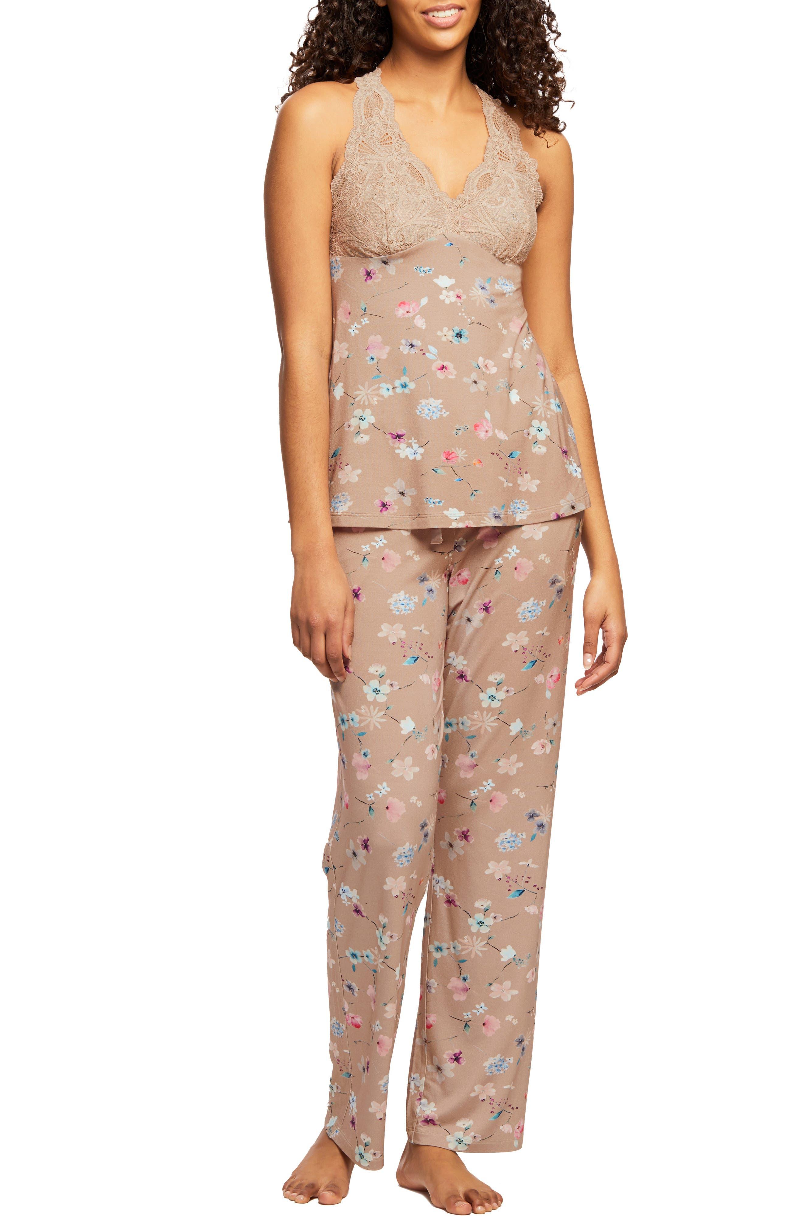 Belle Epoque Lace & Charmeuse Pajamas