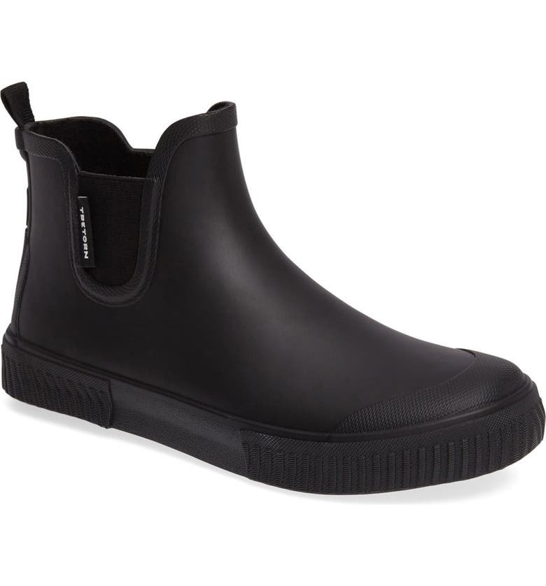 TRETORN Chelsea Rain Boot, Main, color, BLACK