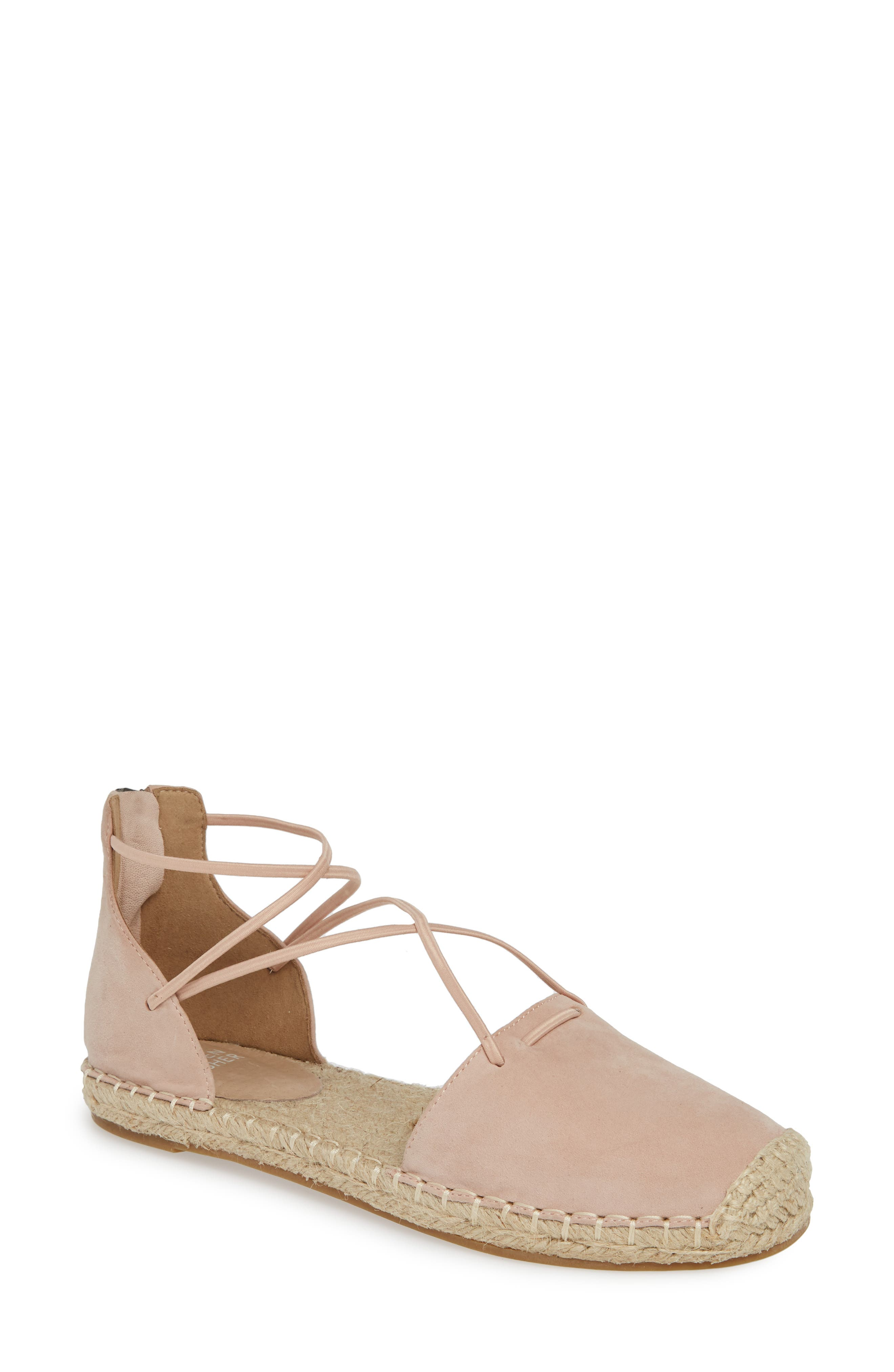 Eileen Fisher Lace Espadrille- Pink