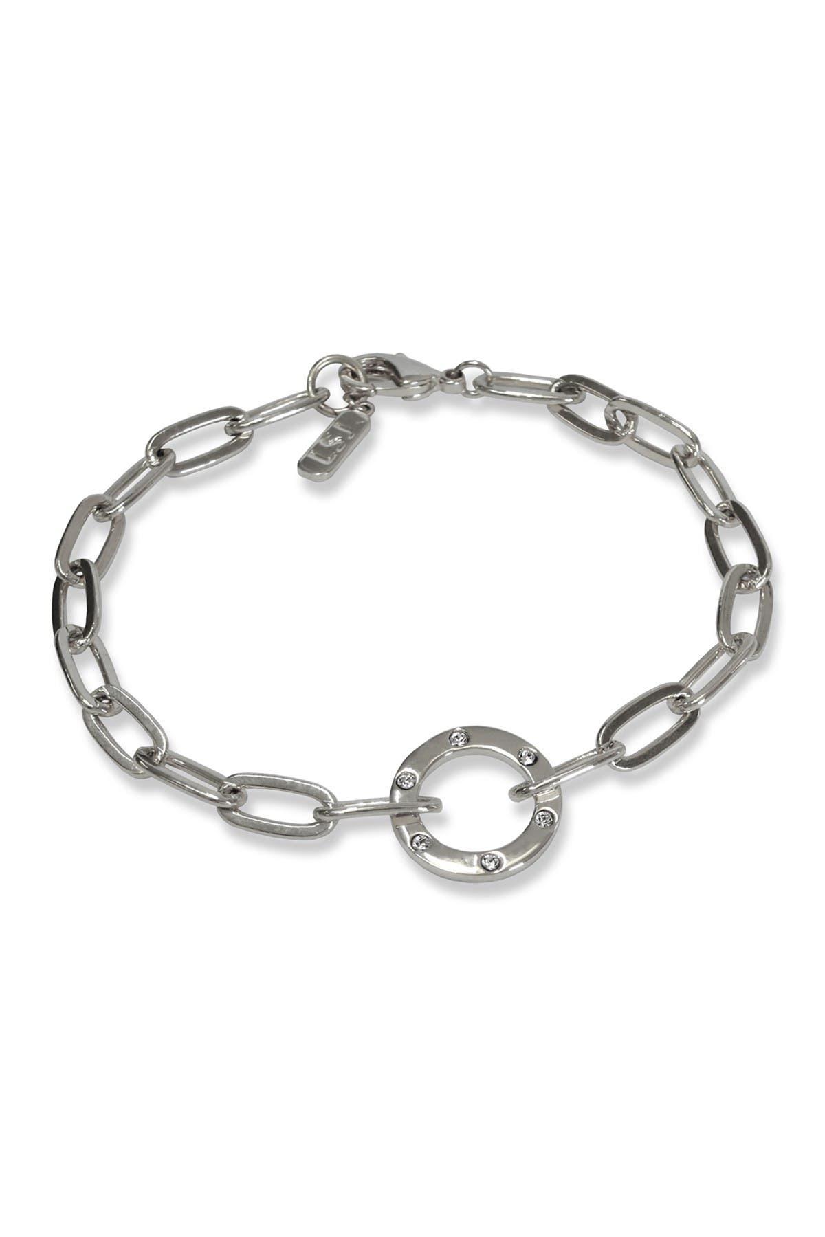 Image of Liza Schwartz Amour Circle Chain Bracelet