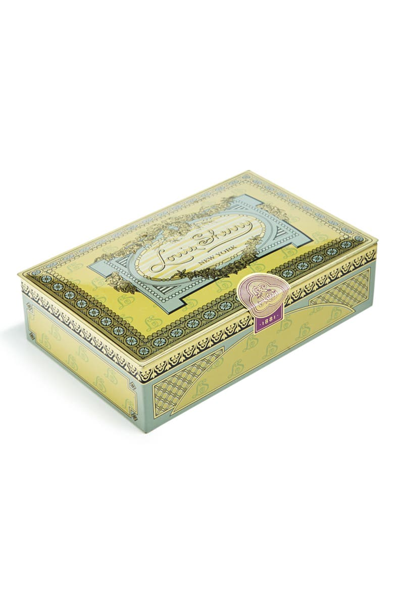 LOUIS SHERRY Vintage 1881 12-Piece Chocolate Truffle Tin, Main, color, GOLD