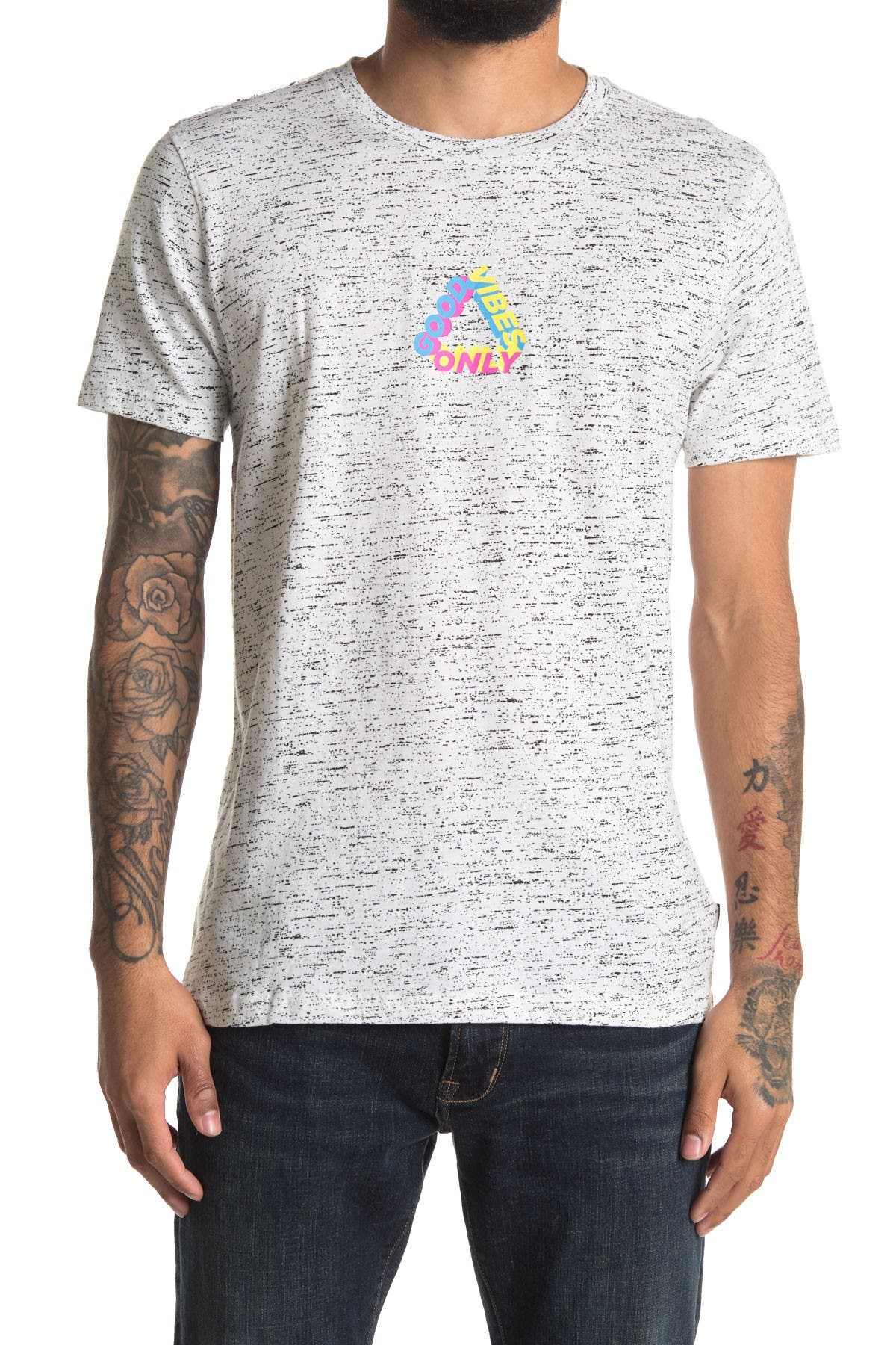 Image of The Narrows Space Dye Good Vibes Tee